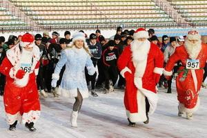 Открытые областные легкоатлетические соревнования «Новогодний пробег»