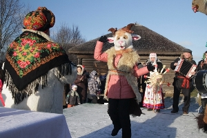 Праздничное мероприятие «Шчадровския гадания» (13 января 2018 г.)