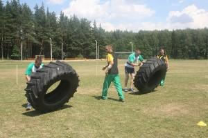 Районные соревнования по силовому экстриму «Астравецкі асілак» (30 июня 2018 г.)