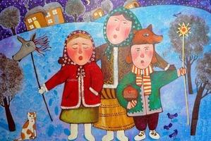 Народный карнавал Коники в Давид-Городке (13 января 2019 года)