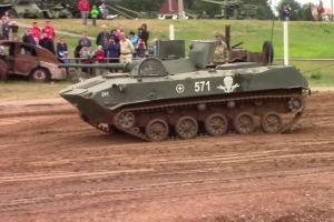 Соревновательное шоу боевых машин БМП-1 (16 июня 2019 года)