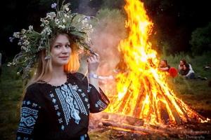 IV международный Купальский фестиваль «Свята сонца» в Дудуках
