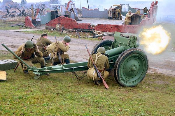 День артиллериста на Линии Сталина (23 ноября 2019 года)