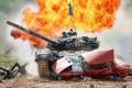 Competitive show «Tank Biathlon T-72» (April 25, 2020)