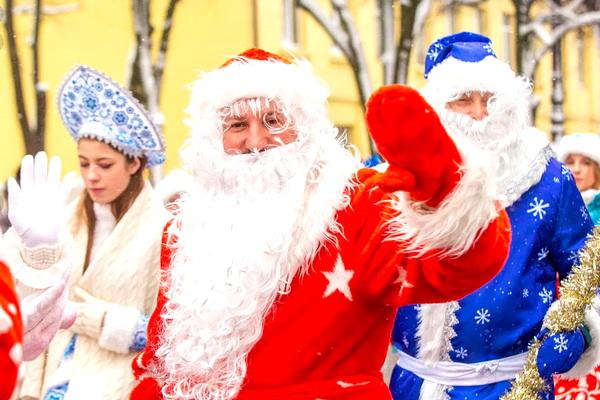 Праздничное включение новогодней иллюминации «Нашествие Дедов Морозов – 2020!» (14 декабря 2020 г.)
