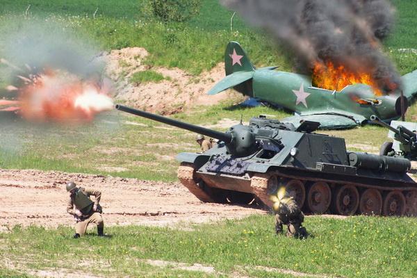 Военно–историческая реконструкция, посвященная Дню Победы в Великой Отечественной войне (8-9 мая 2021 г.)