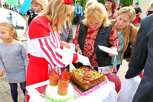 Районное мероприятие, посвященное празднику г. Скиделя (2 октября 2021 года)