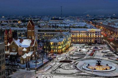 Sightseeing tour of Minsk with animation